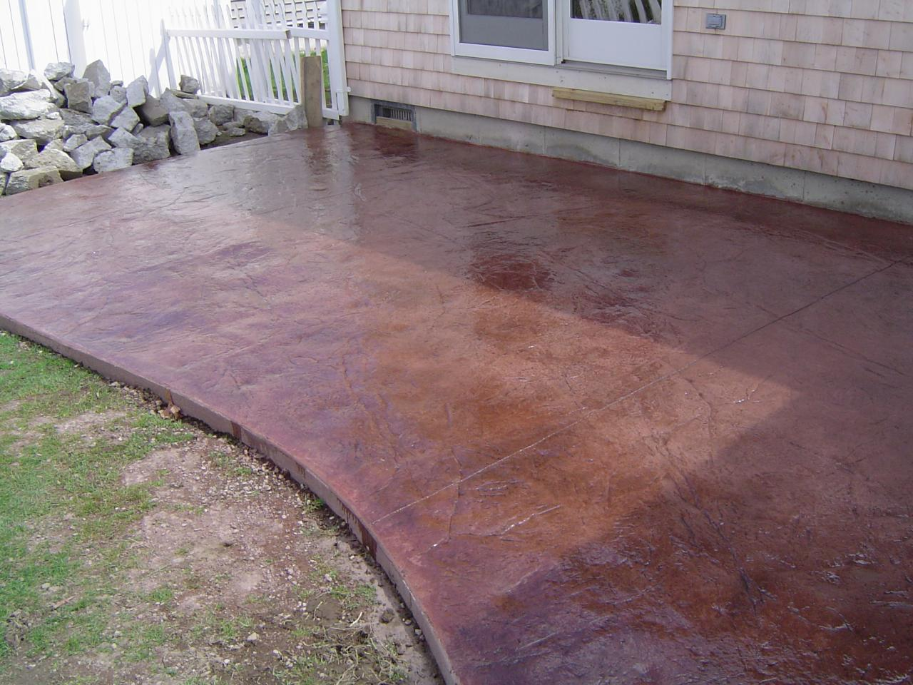 Stamped Concrete Patio Cost Artistic Stamped Concrete Of Rhode Island