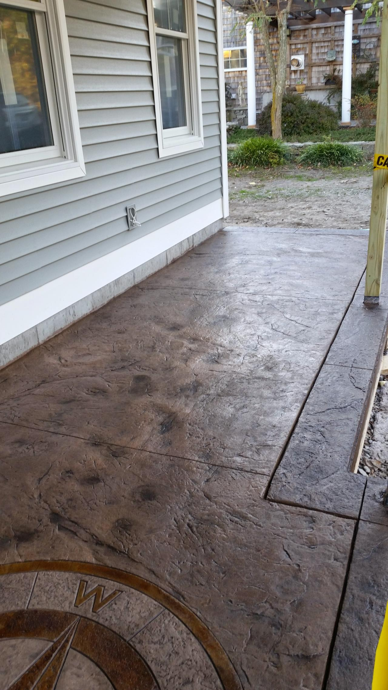 Artistic Stamped Concrete Of Rhode Island Paver M